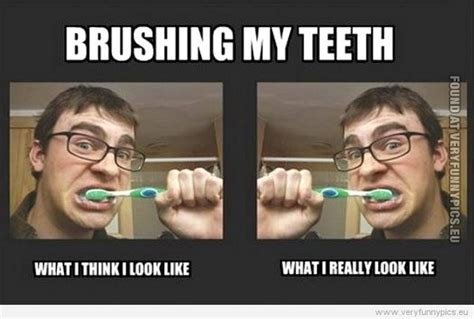 Brushing Teeth Meme - reality vs perception quotes quotesgram