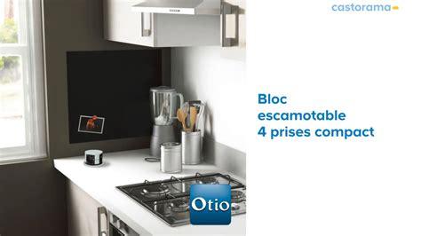 prise escamotable cuisine bloc prise escamotable rond otio 652303 castorama