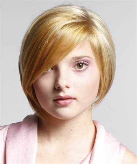 cute hairstyles round face cute short haircuts for round faces 4