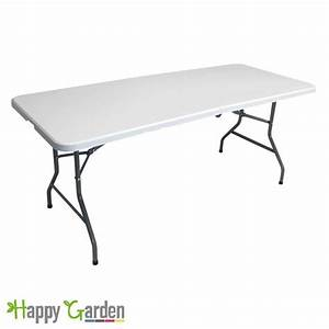 Table rectangulaire pliante COCKTAIL Achat / Vente table de jardin Table rectangulaire pliante