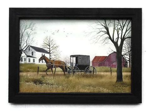 Goin Market Billy Jacobs Amish Picture Art Print