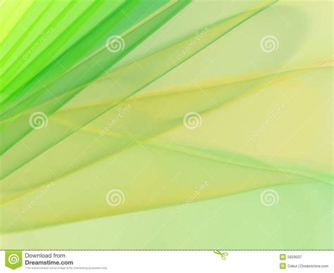 Elegant Green And Yellow Background Royalty Free Stock