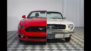 The Evolution Of 6 Generations Of Ford Mustang - YouTube