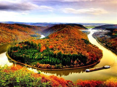 Autumn River Wallpaper : Wallpapers13.com