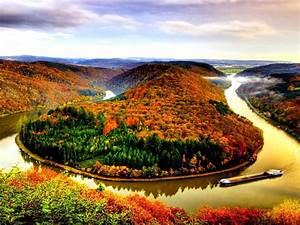 Autumn, River, Wallpaper, Wallpapers13, Com