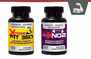Xtreme Fit 360 Testosterone Booster  U0026 Max No2 Workout Formula Review