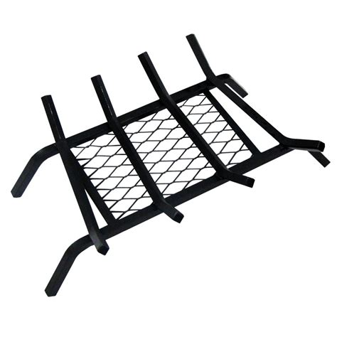 Fireplace Grates Lowes - shop landmann usa 1 2 in steel 18 in 4 bar fireplace grate