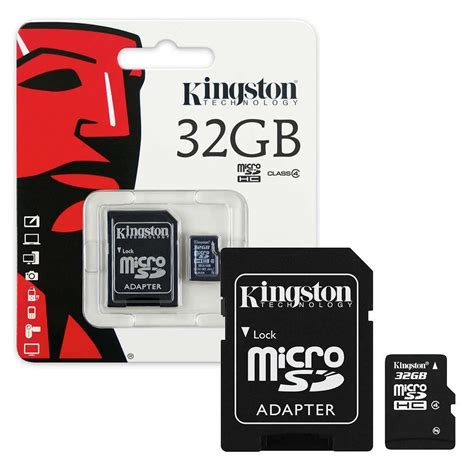 kingston micro sd sdhc memory card class  gb dayshop
