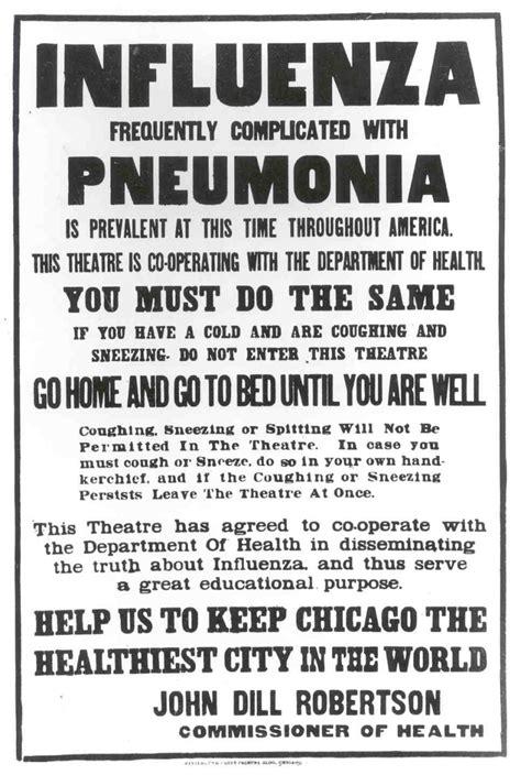 The Influenza Epidemic of 1918 Starts Locally   Shelf Life