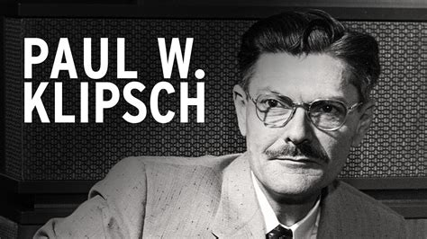 Founder Biography   Klipsch