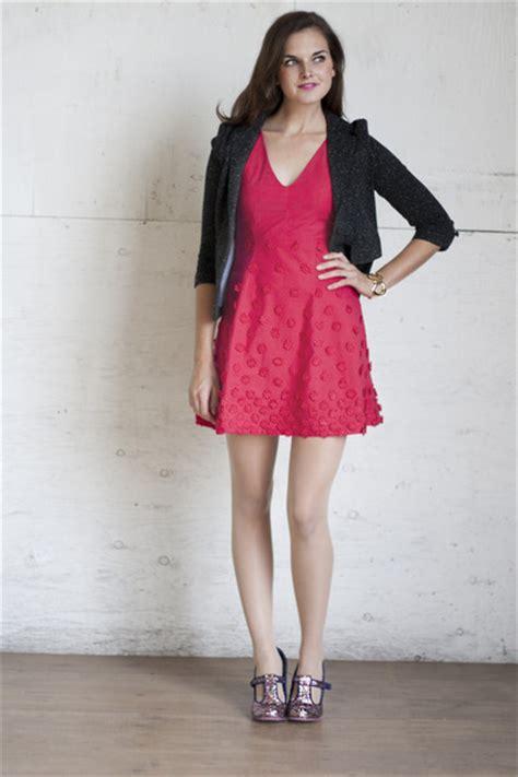 Hot Pink Raspberry Bouquet Dress Dresses Gray Visiting Professor Jacket Blazers | u0026quot;Raspberries ...