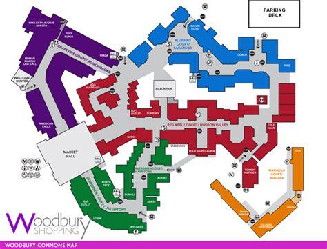 woodbury commons map woodbury ny