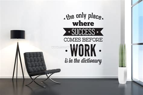 office wall art quotes images  pinterest