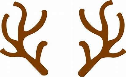Antlers Clipart Reindeer Antler Animated Deer Transparent