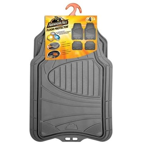 floor mats menards armor all 174 4 piece all season floor mats at menards 174