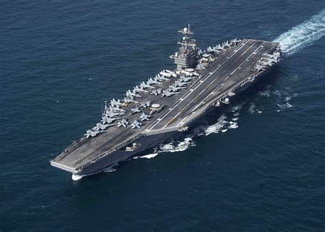 How Iran Could Sink A U.s. Navy Aircraft Carrier