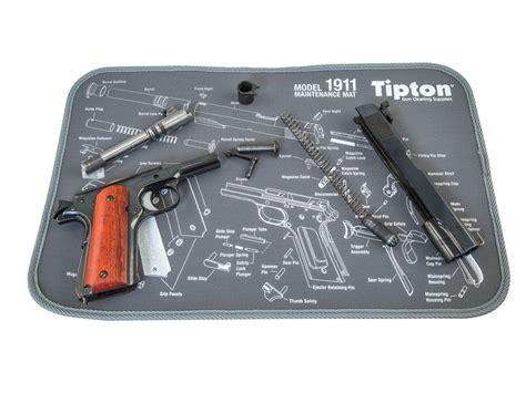 gun cleaning mat tipton 1911 gun cleaning maintenance mat 11 x 17 gray