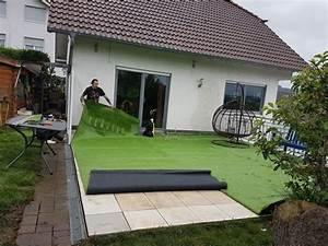 Kunstrasen Im Garten : allgemein blog kerkhoff gr n ihr kunst rollrasenspezialist ~ Markanthonyermac.com Haus und Dekorationen