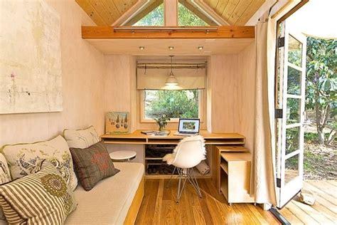 Schreibtisch Für Kleines Zimmer by Gartenhaus In Ein Arbeitszimmer Verwandeln Mit