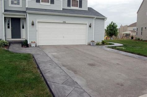 patio driveway ideas 17 best images about driveway extenstion on pinterest sted concrete photo galleries and