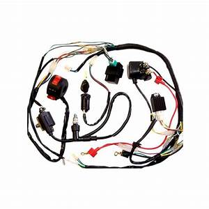 Full Electrics Wiring Harness Coil Cdi 50  70  110cc Atv Quad Bike Buggy Go Kart
