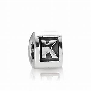 pandora letter k alphabet charm pandora from gift and With pandora letter k charm