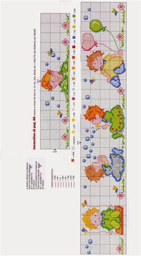 lenzuolino punto croce grande raccolta di schemi e grafici per punto croce free