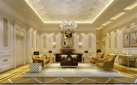 Luxury Living Room by Luxury Living Room 3d Model Max Cgtrader