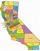 Alphabetical List Of California Counties - ListCrab.com