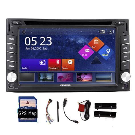 aliexpress buy 2 din gps navigation 6 2 hd car pc stereo dvd cd mp3 player in