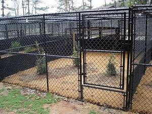 dog fencing residential kennel installations seegars With 20x20 dog pen