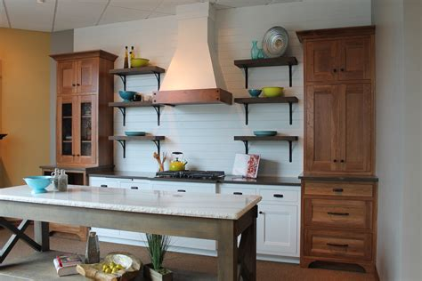 kitchen open cabinets farmhouse kitchen style at valley cabinets Farmhouse
