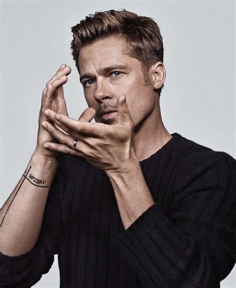 Brad Pitt Stars in NY Times T Style Men's Fashion Fall