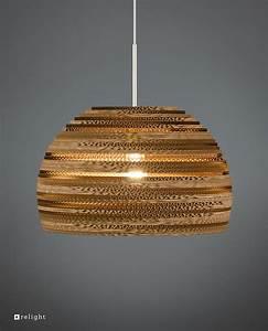 Lampen 24 Online Shop : kartonnen hanglamp resa van gerecycled karton relight ~ Bigdaddyawards.com Haus und Dekorationen