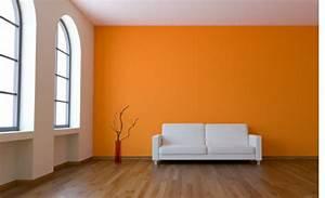 Farbe Weiß Streichen : w nde mit farbe gestalten ideen ~ Markanthonyermac.com Haus und Dekorationen