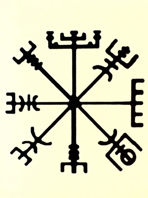 it s a vegvisir a nordic compass rune