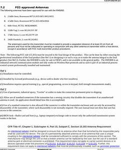 Rosemount Rm5800 Rm5800 User Manual Market Requirements