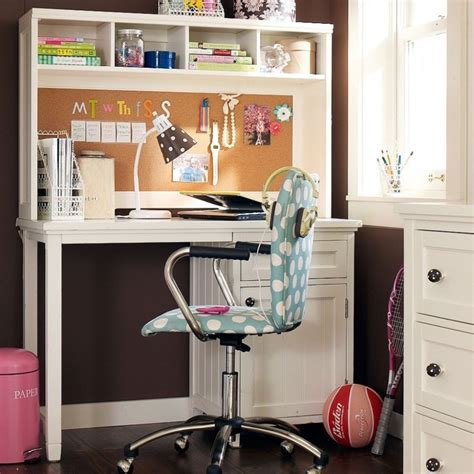 girls white desk chair bedroom teenage bedroom design using white corner study