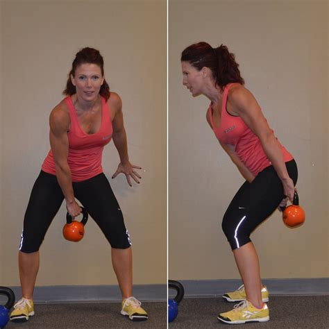 kettlebell workout figure popsugar exercises basic fitness kettlebells workouts want calories burn training swing try works exercise kettle ridiculous amount