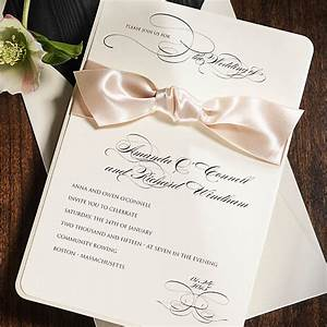 wedding invitation etiquette part 2 a touch of white With 2 wedding invitations