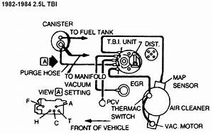 Diagram Vacuum Diagram Chevy 350 1985 1984 Chevy 350 Vacuum Diagram