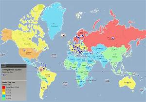 Taille Moyenne Bébé : la taille moyenne des seins dans le monde par pays ~ Nature-et-papiers.com Idées de Décoration