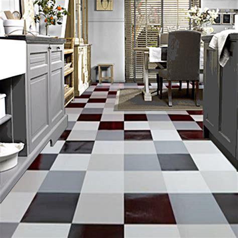 Checkered Vinyl Flooring Uk by Tarkett Modern Living Hekto Grey Black Factory Direct