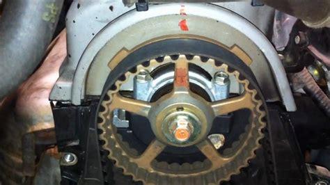 Timing Belt Service Gen Honda Civic Youtube