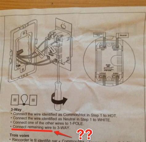 Dimmer Needs Wires Work Way Don Got