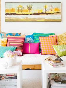 pinterest o the worlds catalog of ideas With bright colored pillows for couch