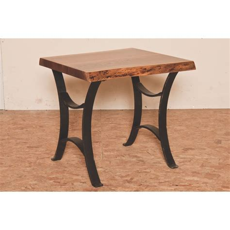 Master Collection Live Edge End Table   Amish Crafted