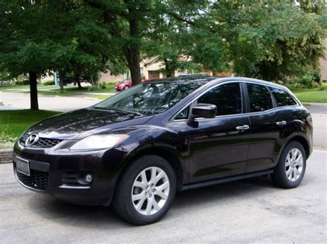mazda united states sell used mazda cx 7 grand touring model in buffalo new