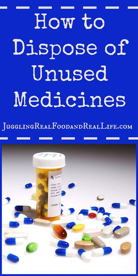 Declutter Challenge How To Dispose Of Unused Medicines