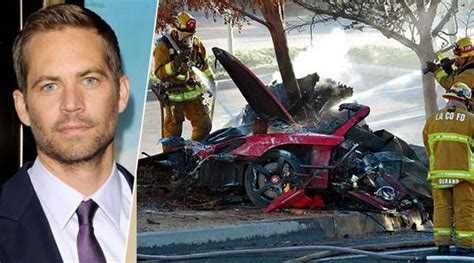 Paul Walker : Official Cause Of Death Revealed